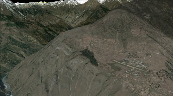 Tour of Humla through Google Earth